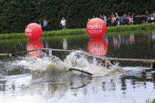 Radrennen über Wasser
